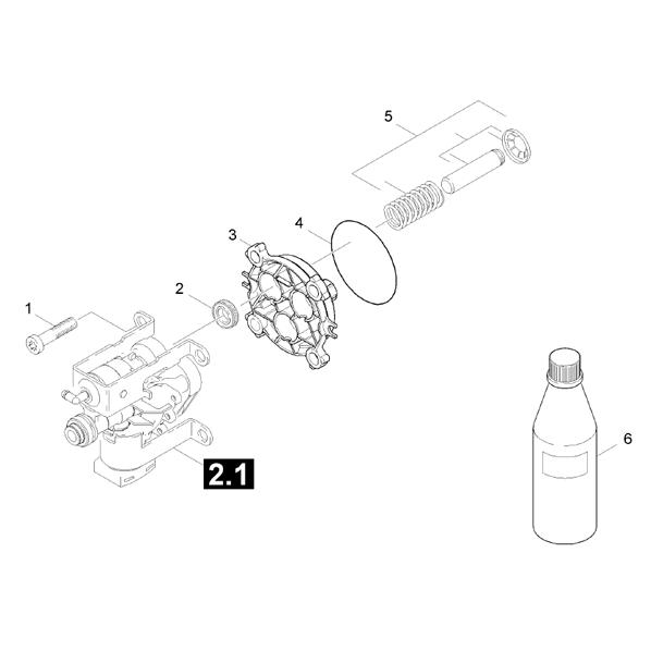 karcher pressure washer parts lookup