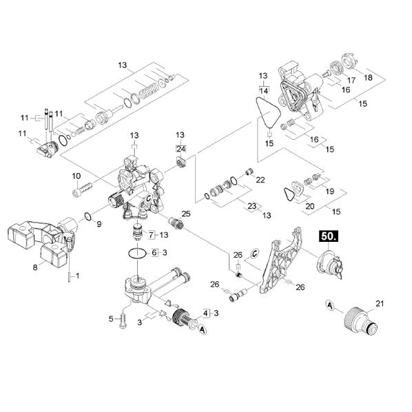 karcher pressure washer parts diagram