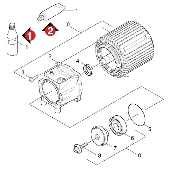 Karcher k380 md eu (1950-1000) pressure washer jet pipe spare parts diagram