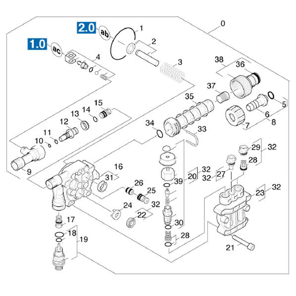 Karcher k3300 gs petrol pressure washer | in gloucester.