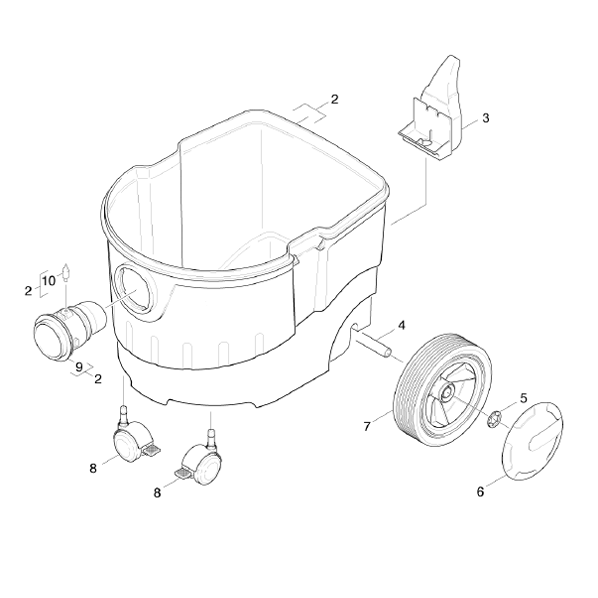 Vacuum Cleaner Karcher Nt 361 Eco