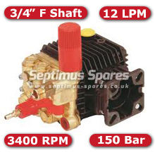 51 Series Pump 12Lpm 150Bar 3/4 F Shaft