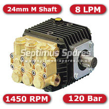 51 Series Pump 8Lpm 120Bar 24mm M Shaft
