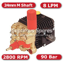 51 Series Pump 8Lpm 90Bar 24mm M Shaft