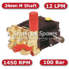 44 Series Pump 12Lpm 100Bar 24mm M Shaft