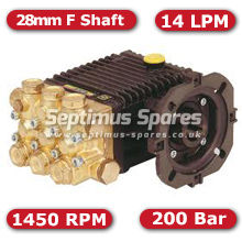 44 Series Pump 14Lpm 200Bar 28mm F Shaft