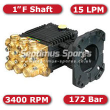 44 Series Pump 15Lpm 172Bar Female Shaft