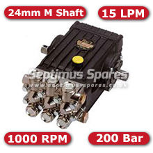 47 Series Pump 15Lpm 200Bar 24mm M Shaft