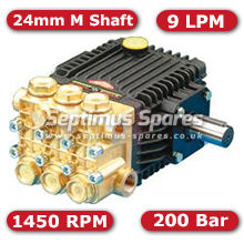 63 Series Pump 9Lpm 200Bar 24mm M Shaft