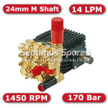 63 Series Pump 14Lpm 170Bar 24mm M Shaft