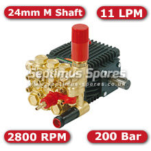 63 Series Pump 11Lpm 200Bar 24mm M Shaft