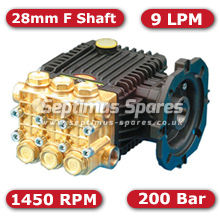 63 Series Pump 9Lpm 200Bar 28mm F Shaft