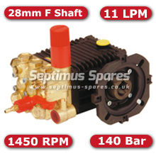 63 Series Pump 11Lpm 140Bar 28mm F Shaft