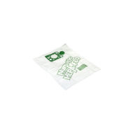 10 (NVM-1CH) HEPAFLO FILTER BAGS (MODEL 200 TYPE)