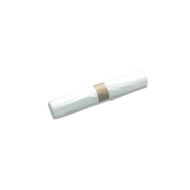 ROLL OF 10 X 120-LITRE WASTE BAGS (700MM X 1100MM), WHITE